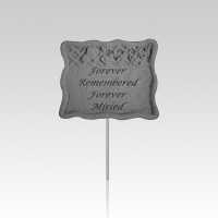 Forever Remembered Pet Garden Stake