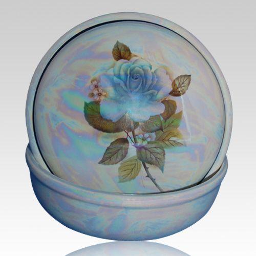 Darlene Blue Keepsake Memento Box