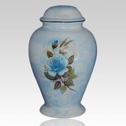 Darlene Blue Ceramic Cremation Urn