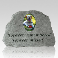 Remember Me Forever Pet Memory Stone