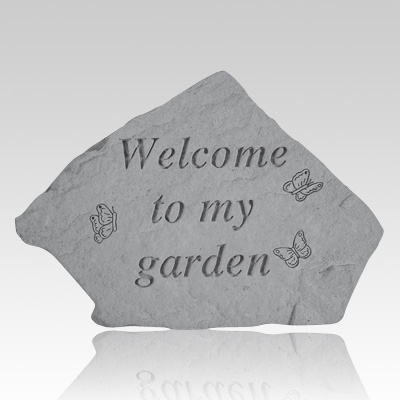 Welcome To My Garden Stone II