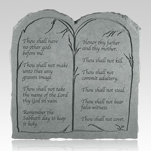 The Ten Commandments Tablet