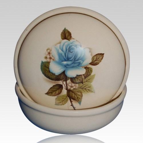 Serena Blue Keepsake Memento Box