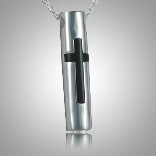 Onyx Cross Memorial Jewelry