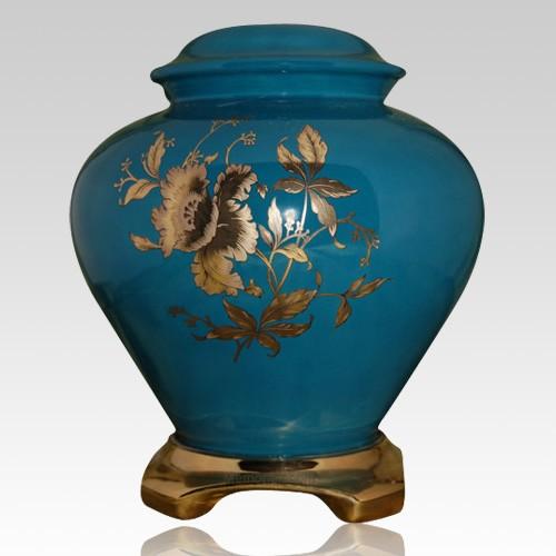 Classic Green Ceramic Oversized Urn