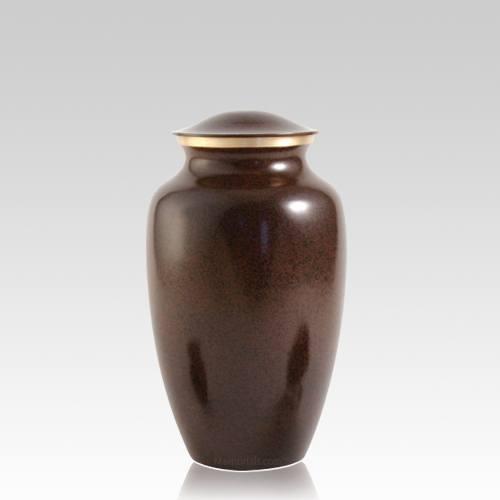 Brown Earthtone Large Pet Urn