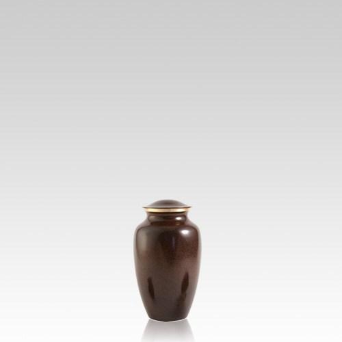 Brown Earthtone Keepsake Pet Urn
