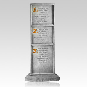 I Thought of You Obelisk