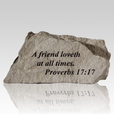 A Friend Loveth At All Times Rock