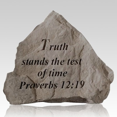 Truth Stands The Test Of Time Rock