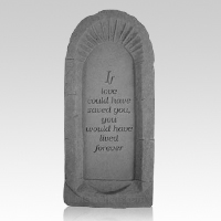 If Love Pet Memorial Stone