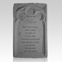 Those We Love Pet Memory Stone