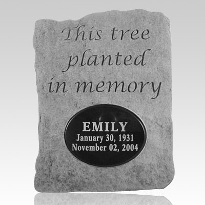 Tree Planted In Memory Personalized Stone