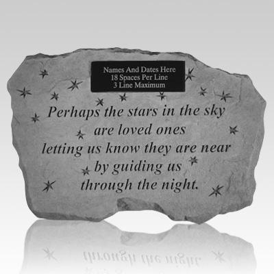 Star Night Memorial Rock
