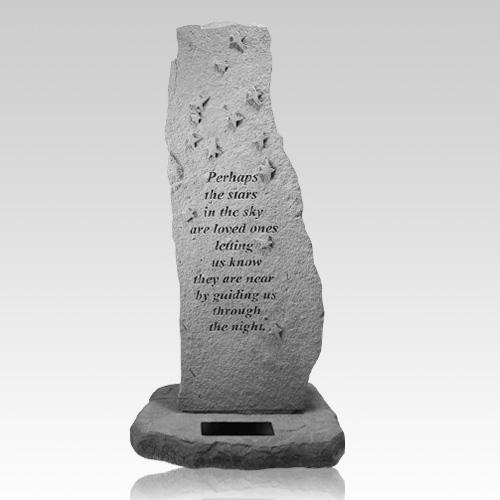 Perhaps The Stars Personalized Totem Rock