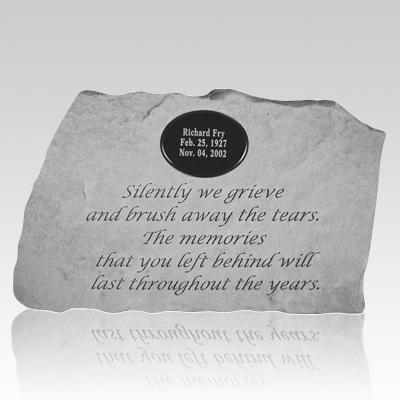 Silently We Grieve Stone