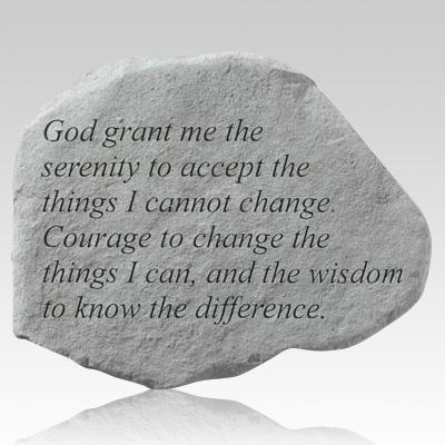 God Grant Me The Serenity Stone