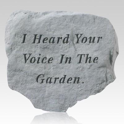 I Heard Your Voice Stone