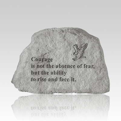 Courage with Eagle Rock