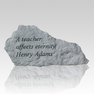 A Teacher Affects Eternity Rock