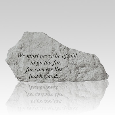 We Must Never Be Afraid Rock