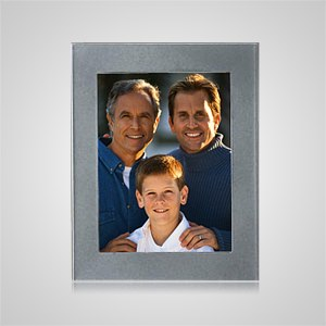 Medium Silver Rectangle Picture Frame