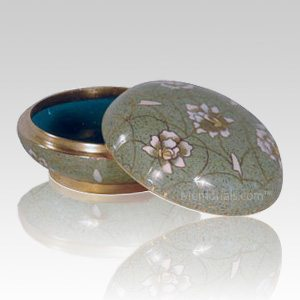 Pear Blossom Cloisonne Jewel Dish