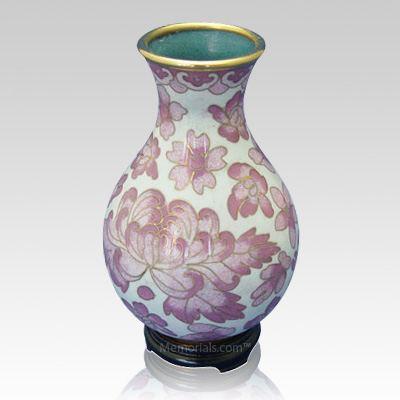 Rose Flowers Cloisonne Vase