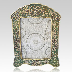Emerald Green Cloisonne Picture Frame