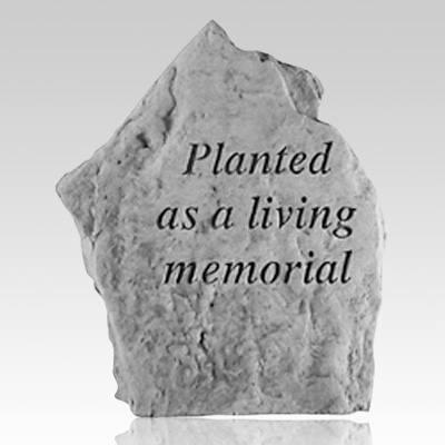Planted Living Memorial Stone