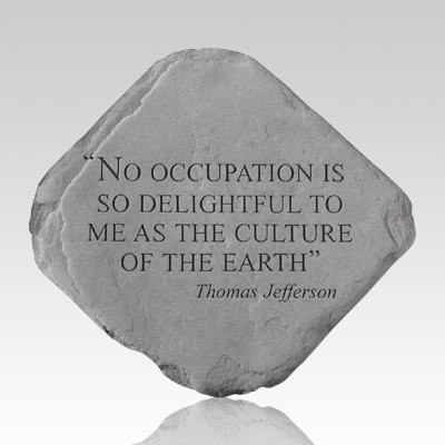 No Occupation Is So Delightful Stone