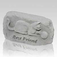 Best Friend Cat Memorial Stone