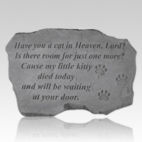 Kitty Heaven Pet Memory Stone