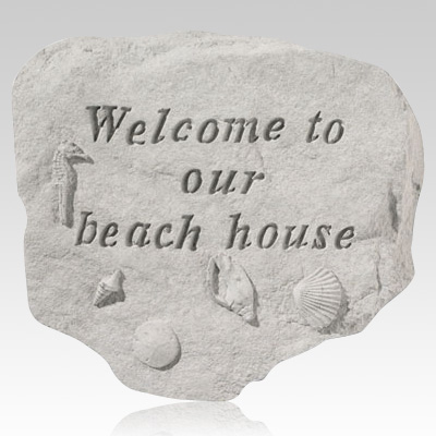 Welcome To Our Beach Stone