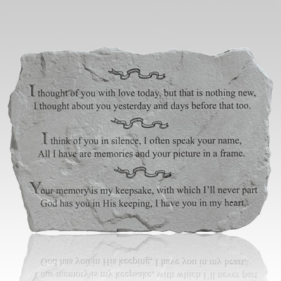 I Thought Of You Today Stone