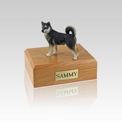 Alaskan Malamute Small Dog Urn