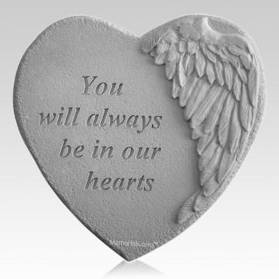 Always Angel Heart Stone