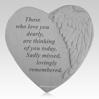 Always Forever Angel Heart Stone