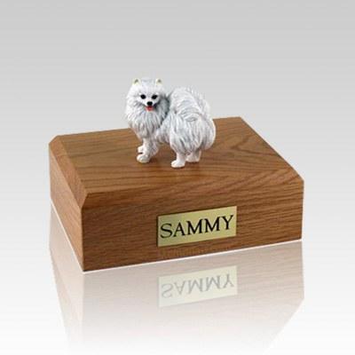 American Eskimo Miniature Large Dog Urn