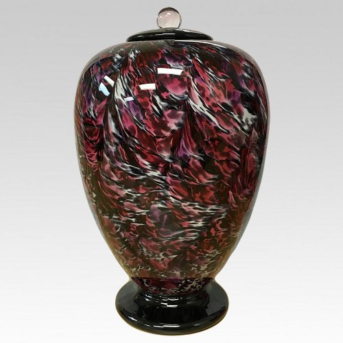 Amore Glass Cremation Urn