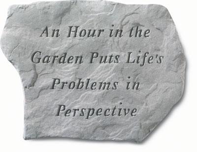 An Hour In Garden Stone