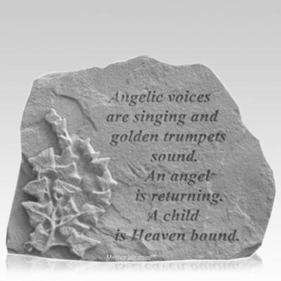 Angelic Ivy Memorial Stone