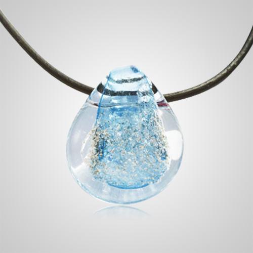 Aqua Memorial Jewelry Pendant