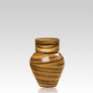 Arcadia Small Wooden Pet Urn