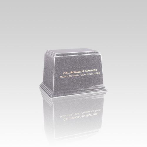 Ark Gray Mini Marble Urn