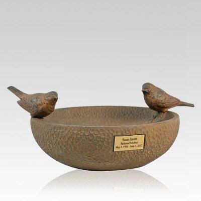 Ash Memorial Bird Bath