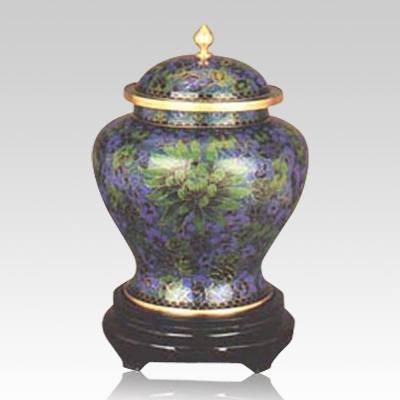 Atlantis Cloisonne Cremation Urn