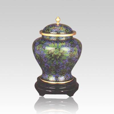 Atlantis Cloisonne Keepsake Cremation Urn