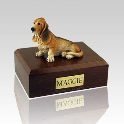 Basset Hound X Large Dog Urn