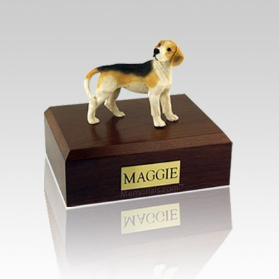 Beagle Standing Medium Dog Urn